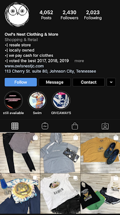 Cubefunder Getting started on Instagram Owls Nest Clothing