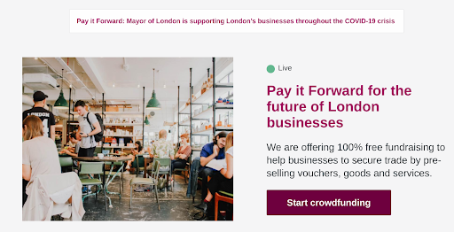 Pay it forward scheme